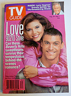 Tv Guide-august 26-september 1, 1995-love 90210 Style