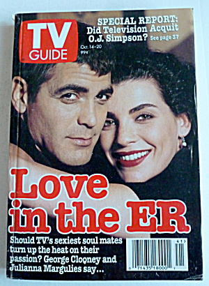 Tv Guide-october 14-20, 1995-love In The Er