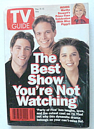 Tv Guide-december 9-15, 1995-party Of Five