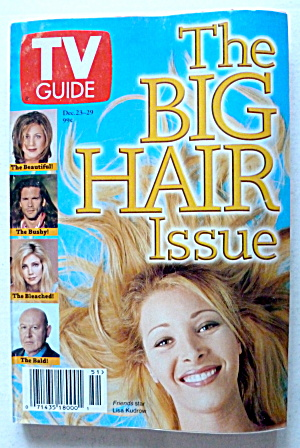 Tv Guide-december 23-29, 1995-big Hair Issue