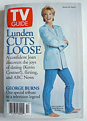 Tv Guide-march 30-april 5, 1996-joan Lunden