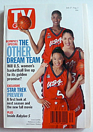 Tv Guide-july 27-august 2, 1996-the Other Dream Team