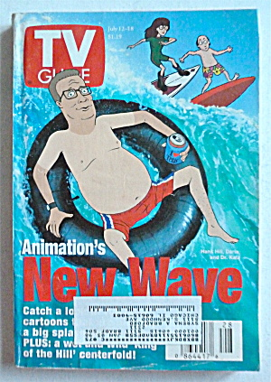 Tv Guide-july 12-18, 1997-animation's New Wave