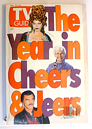 Tv Guide-december 24-30, 1994-year In Cheers & Jeers