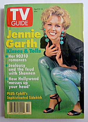 Tv Guide-april 8-14, 1995-jennie Garth
