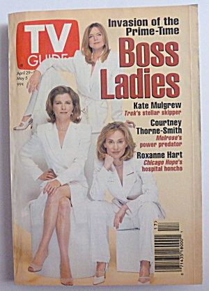Tv Guide-april 29-may 5, 1995-boss Ladies