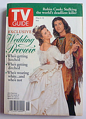 Tv Guide-may 6-12, 1995-wedding Preview
