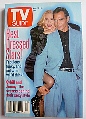 Tv Guide-august 12-18, 1995-cybill & Jimmy