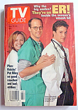 Tv Guide-november 19-25, 1994-nbc's Er