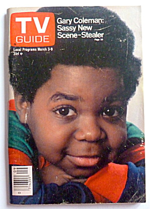 Tv Guide-march 3-9, 1979-gary Coleman
