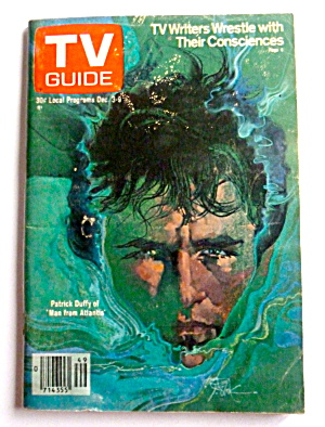 Tv Guide-december 3-9, 1977-patrick Duffy