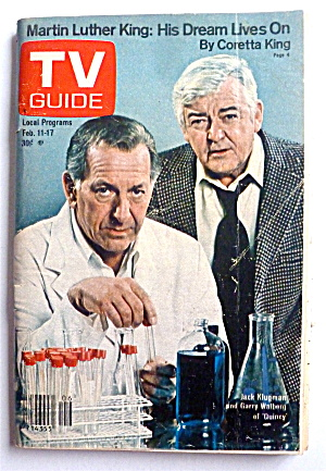 Tv Guide-february 11-17, 1978-jack Klugman (Quincy)