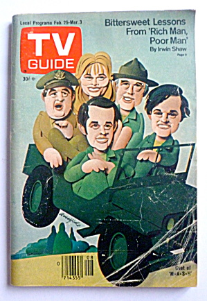 Tv Guide-february 25-march 3, 1978-mash