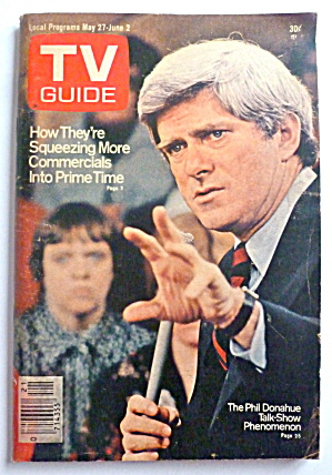 Tv Guide-may 27-june 2, 1978-phil Donahue