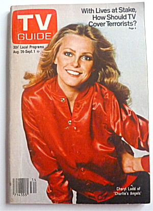 Tv Guide-august 26-september 1, 1978-cheryl Ladd