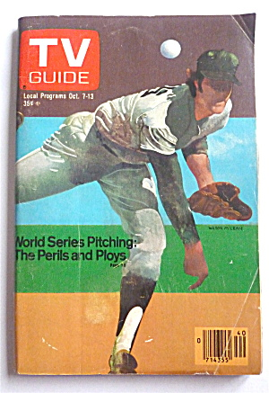 Tv Guide-october 7-13, 1978-world Series Pitching