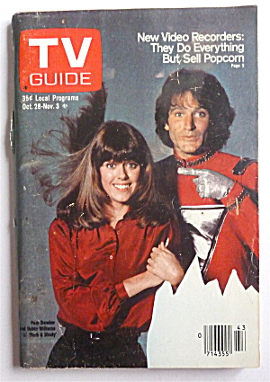 Tv Guide-october 28-november 3, 1978-mork & Mindy