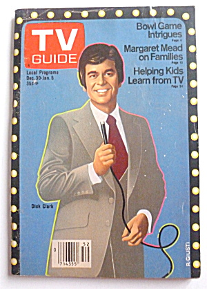 Tv Guide-december 30-january 5, 1979-dick Clark