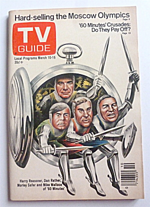 Tv Guide-march 10-16, 1979-60 Minutes