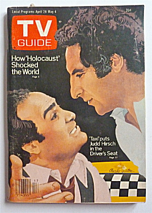 TV Guide-April 28-May 4, 1979-Taxi  (Image1)