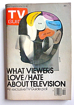 Tv Guide-may 12-18, 1979-love/hate About Tv