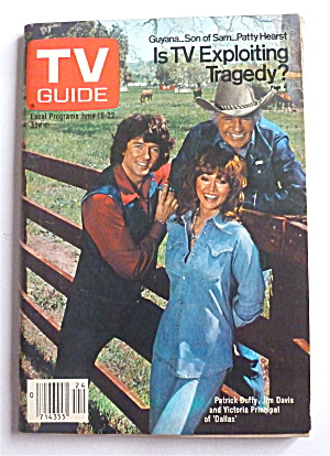 Tv Guide-june 16-22, 1979-dallas