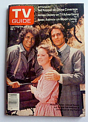 TV Guide-July 14-20, 1979-Little House On The Prairie (Image1)