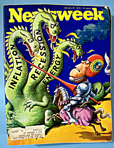 Newsweek Magazine - January 27, 1975