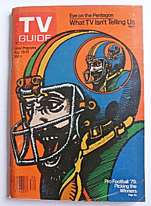 TV Guide-August 25-31, 1979-Pro Football '79 (Image1)