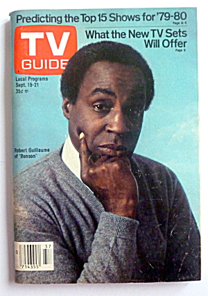 Tv Guide-september 15-21, 1979-benson