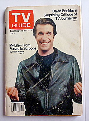 Tv Guide-december 15-21, 1979-fonzie
