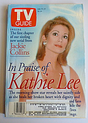 Tv Guide-july 19-25, 1997-in Praise Of Kathie Lee