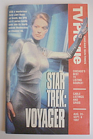 Tv Prevue-august 31-september 6, 1997-star Trek:voyager