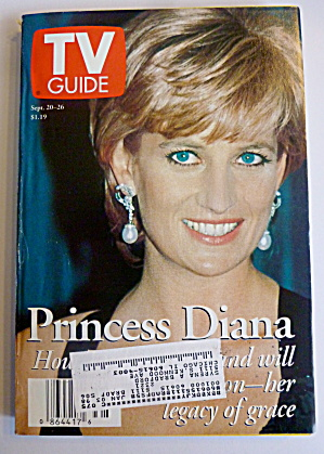 Tv Guide-september 20-26, 1997-princess Diana