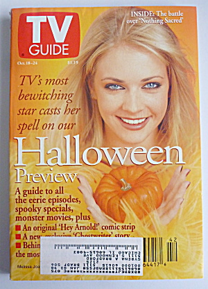 Tv Guide-october 18-24, 1997-melissa Joan Hart