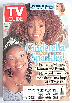 Tv Guide-november 1-7, 1997-whitney & Brandy