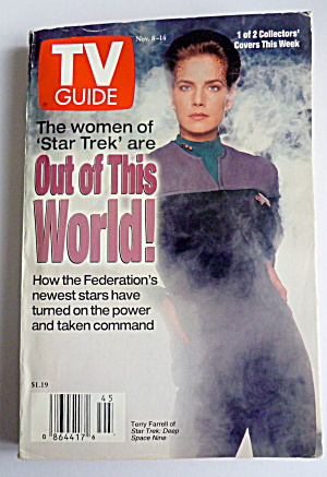 Tv Guide-november 8-14, 1997-women Of Star Trek