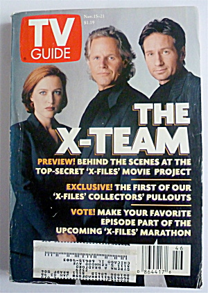 Tv Guide-november 15-21, 1997-the X-team