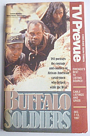 Tv Prevue-december 7-13, 1997-buffalo Soldiers