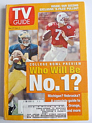 TV Guide-December 27, 1997-January 2, 1998-College Bowl (Image1)