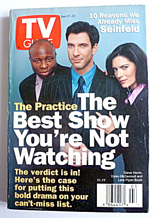 Tv Guide-january 17-23 1998-the Practice