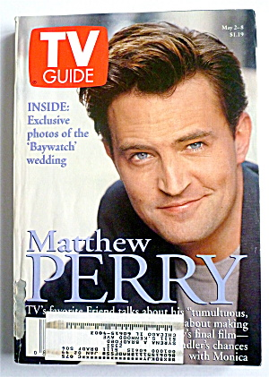 Tv Guide-may 2-8, 1998-matthew Perry