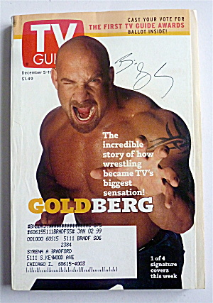 Tv Guide-december 5-11, 1998-goldberg