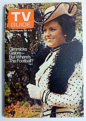 Tv Guide-october 4-10, 1975-lee Remick As Jennie