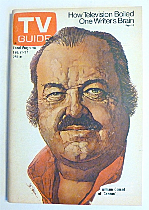 TV Guide-February 21-27, 1976-William Conrad  (Image1)