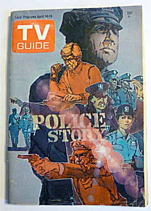 Tv Guide-april 10-16, 1976-police Story