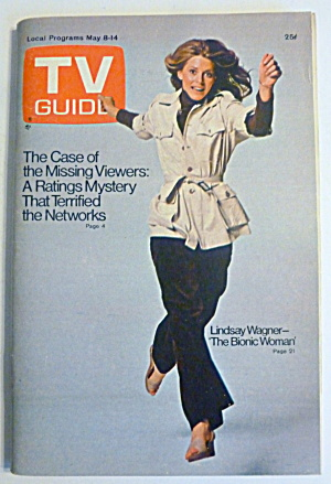 Tv Guide-may 8-14, 1976-lindsay Wagner
