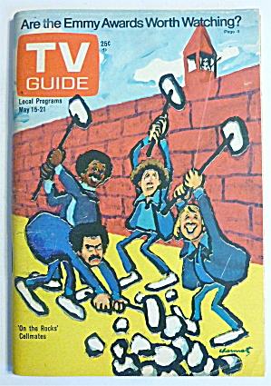 Tv Guide-may 15-21, 1976-on The Rocks Cellmates