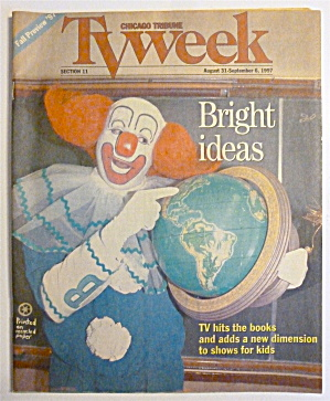 Tv Week-august 31-september 6, 1997-bozo The Clown