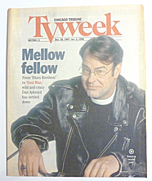 Tv Week-december 28, 1997-january 3, 1998-dan Aykroyd